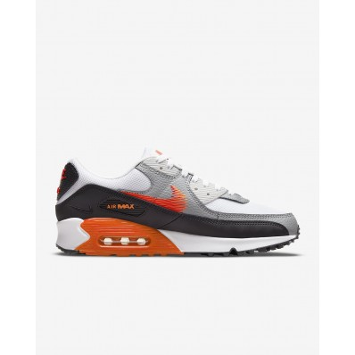 baskets nike air max 90 chaussures de running pour homme rouge